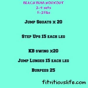 BeachBum,Workout